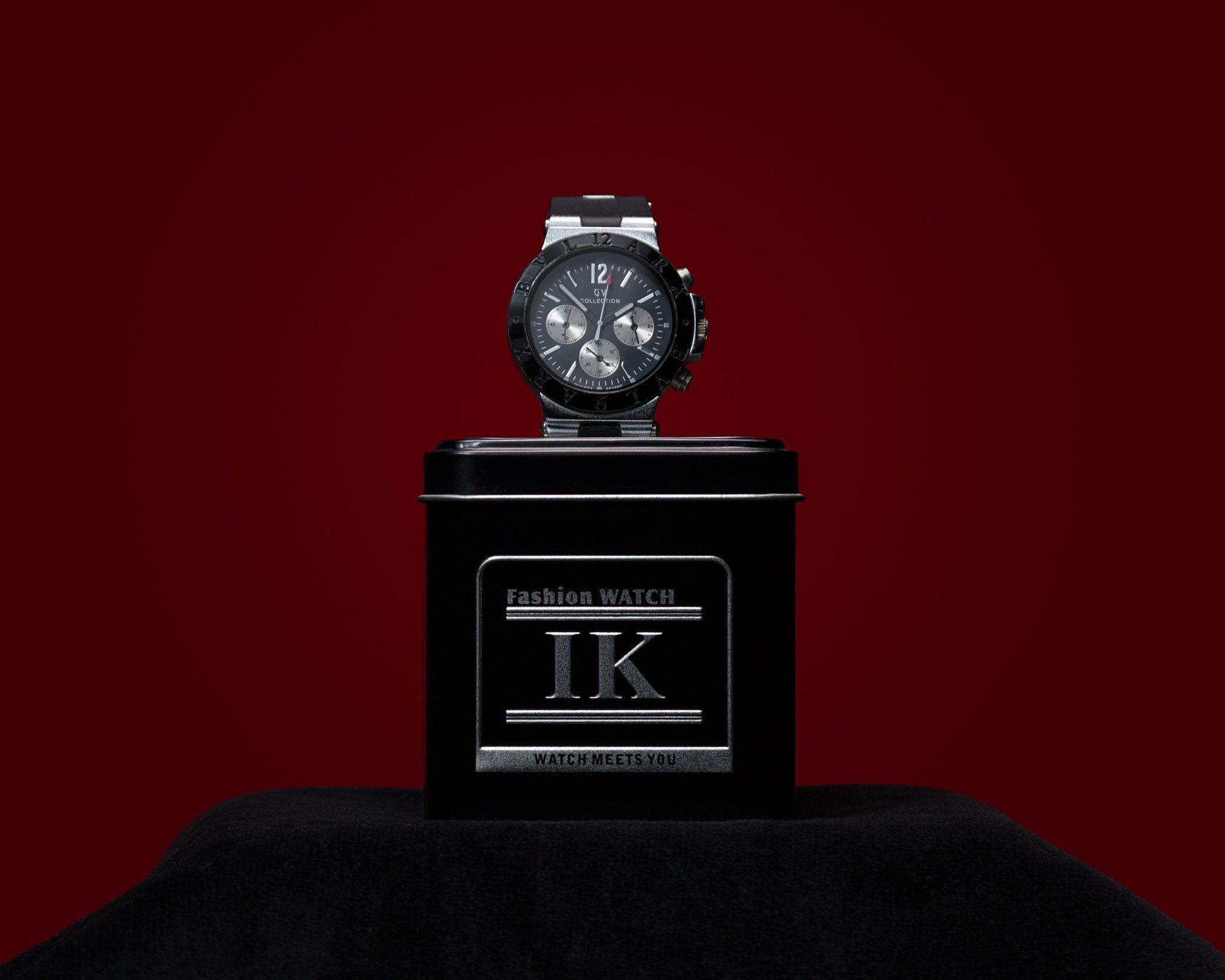 Reloj fotografia de producto