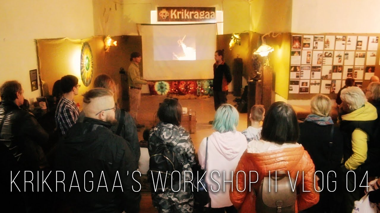 Krikragaa's Workshop Lithuania || VLOG 04